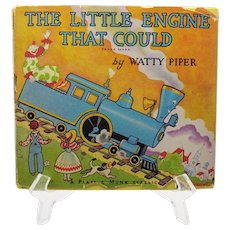 Vintage Kids Book The Little Engine That Could 1954 Good Condition