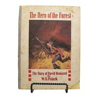 Vintage Book About David Brainerd Missionary To The Delaware Indians Early 1900s Fair Condition