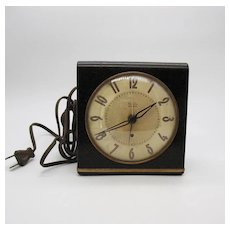 Vintage Westclox Electric Big Ben Alarm Clock 1948 Works Good