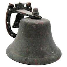 Vintage Bevin Patio/Garden Bronze/Brass Bell 1950-60s Good Vintage Condition