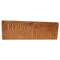 Vintage Kennedy Biscuit Tin Early 1900s Good Condition