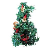 Vintage 1960s  Yuletide Merry Pixie Tree Wall/Door Decoration Good Vintage Condition