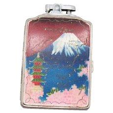 Vintage Large  Japan Lighter/Cigarette Holder Combination 1950s Vintage Condition