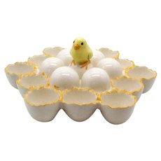 Vintage Deviled Egg Tray 1975 Good Condition
