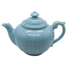 Vintage Blue Dalton Tea Pot by Pearl/Dalton China Co. 1930-58 Good Useable Condition