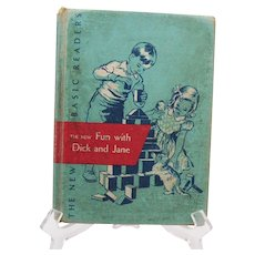 Vintage 1951 Fun with Dick & Jane Book Fair Condition