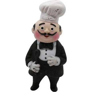 Vintage Magic Chef Rubber Advertising Still Bank from 1980s