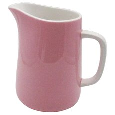Vintage Pink Creamer by Mikasa in The Pastelle Puff Pink Pattern 1960-74 Good Condition