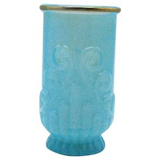 Vintage Avon Blue Opalescent Tumbler 1970s Good Condition