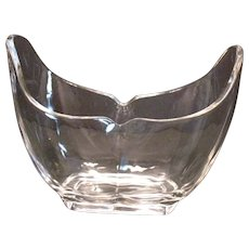 Vintage Crystal Vase by Heisey 1920-40s Good Condition
