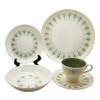 Vintage 5 Place Settings of Harmony House Line by Sears 1948-60 Good Condition