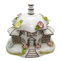 Vintage Coalport The Parasol House Fine Bone China 1964 Made In England Good Vintage Condition