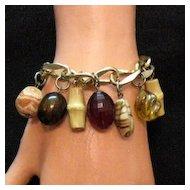 50% OFF Unusual Signed Coro Vintage Charm Bracelet