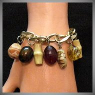 50% OFF Unusual Signed Coro Vintage Charm Bracelet