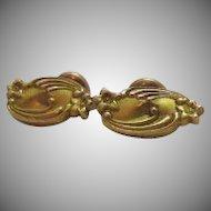 50% OFF Antique Edwardian 14K Gold Cuff Links