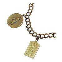 Very Rare Vintage Avon 'Presidents Award' Charm Bracelet~1965 Free Shipping