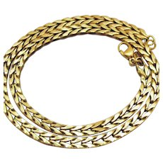 Monet Gold Chain Jewelry Ruby Lane