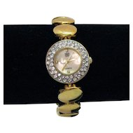 Elizabeth Taylor Vintage White Diamonds Bracelet Wrist Watch