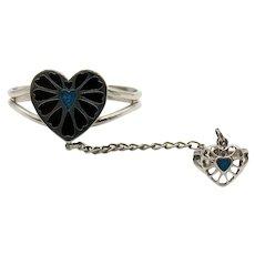Fun Vintage Costume Jewelry Slave Bracelet Ring