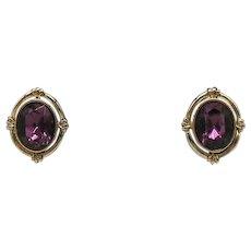 BOOK Signed Avon Vintage Queensbury 1974 Clip Earrings Unworn