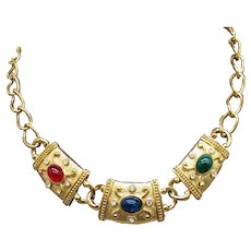 BOOK Vintage Etruscan Revival Signed Avon Magnificent Necklace FREE SHIPPING