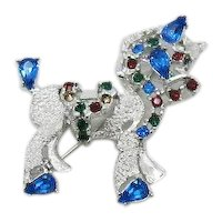 Hard to Find Signed Dodds Rhinestone Figural Horse Brooch FREE SHIPPING