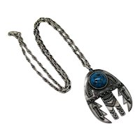 Signed Rafaelian Hard to Find Tribal Southwestern Native American Indian Style Necklace FREE SHIPPING