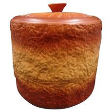 Stunning vintage brioche trompe-l'oeil tureen or cookie jar - Earthenware - Stoneware - Kitchen decoration