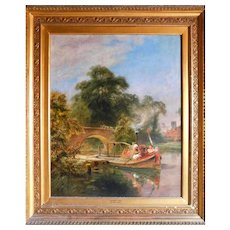 Summer Time  By Robert  Gallon (British 1845-1925)