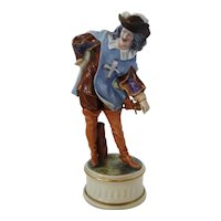 "Capodimonte by Ginon The Three Musketeers 11"" ARAMIS FIGURINE, ca 1925"