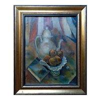 Still Life by  Frank Osborn (American,1887-1948) Oil Painting, ca 1926