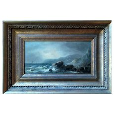 James W Bartholomew Marine Painting (United Kingdom, 19th century), ca 1850