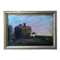 Original Oil Painting By Robert William Waithman(b 1828)Listed Artist