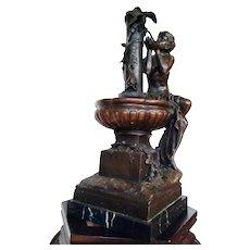 Signed Mathurin  Moreau (French, 1822-1912) Bronze Sculpture, circa 1880