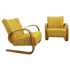 Pair Of Mid Century Modern Armchairs (Czech)