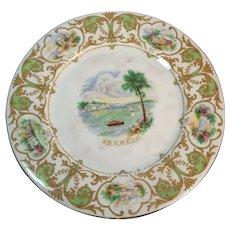 Vintage Bermuda Plate