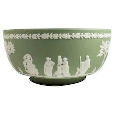 Green Jasperware Wedgwood Bowl