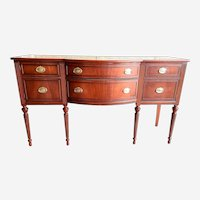 Federal Hepplewhite sideboard buffet mahogany early 1900s