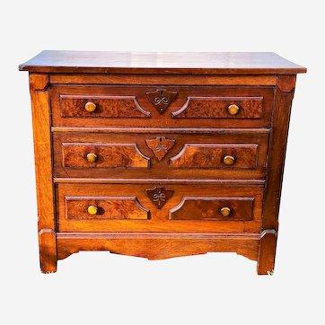 Antique Renaissance Revival Dresser Victorian 1800s
