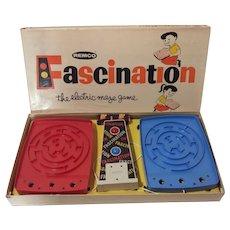 Vintage Fascination Maze Game in Working Condition