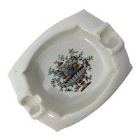 Vintage Guardsman Safety Ashtray by National Porcelain Company