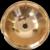Handworked Handmade Solid Copper 2mm Hammered Metal Vintage Washbasin 34 cm diameter with over lip