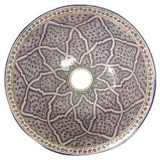 63 35cm Single Sided Handmade Moroccan Pottery Ceramic Vintage Washbasin Wash basin Bathroom Sink Alfresco Kitchen Sink