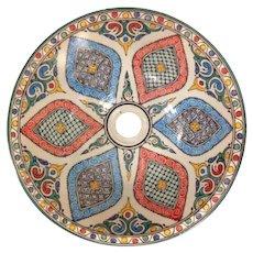 45 40cm Single Sided Handmade Moroccan Pottery Ceramic Vintage Washbasin Wash basin Bathroom Sink Alfresco Kitchen Sink