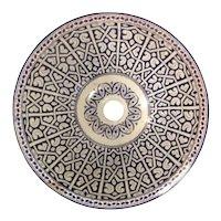 15 45 cm Double Sided Handmade Moroccan Pottery Ceramic Vintage Washbasin Washbasin Bathroom Sink Alfresco Kitchen Sink