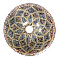 14 45 cm Double Sided Handmade Moroccan Pottery Ceramic Vintage Washbasin Washbasin Bathroom Sink Alfresco Kitchen