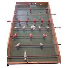 French Folding Wooden Portable Babyfoot , Table football in good usable condition