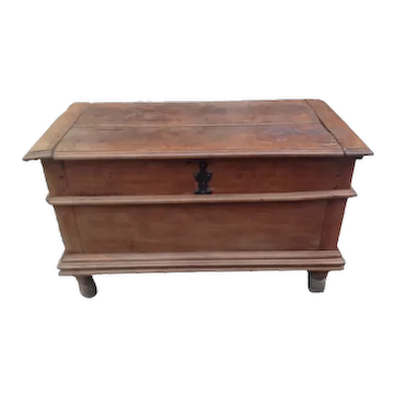 French Fruitwood Coffer Blanket Chest 115 cm Wide 79 cm High