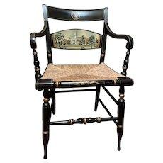 Vintage University of Connecticut Hitchcock Chair