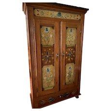 Vintage Linen Press or Storage Cabinet